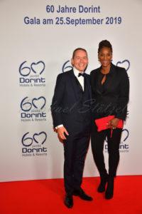 Karl-Heinz Pawlizki Geschäftsführer Dorint GmbH CEO Dorint, Liz Baffoe / Geburtstagsparty 60 Jahre Dorint Hotels & Resorts im Dorint in Köln am 25 September 2019